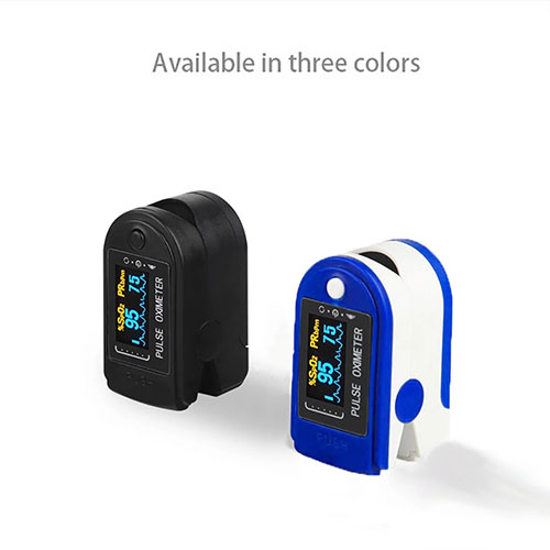 TFT Display fingertip Pulse blood oxygen saturation